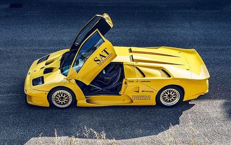 Lamborghini Diablo GT1 Long Tail