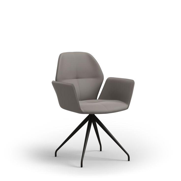 ZWAARTAFELEN I Elegante stoel van Mobitec bij Zwaartafelen, verkrijgbaar in meerdere kleuren! Past naadloos in een Scandinavisch interieur I www.zwaartafelen.nl