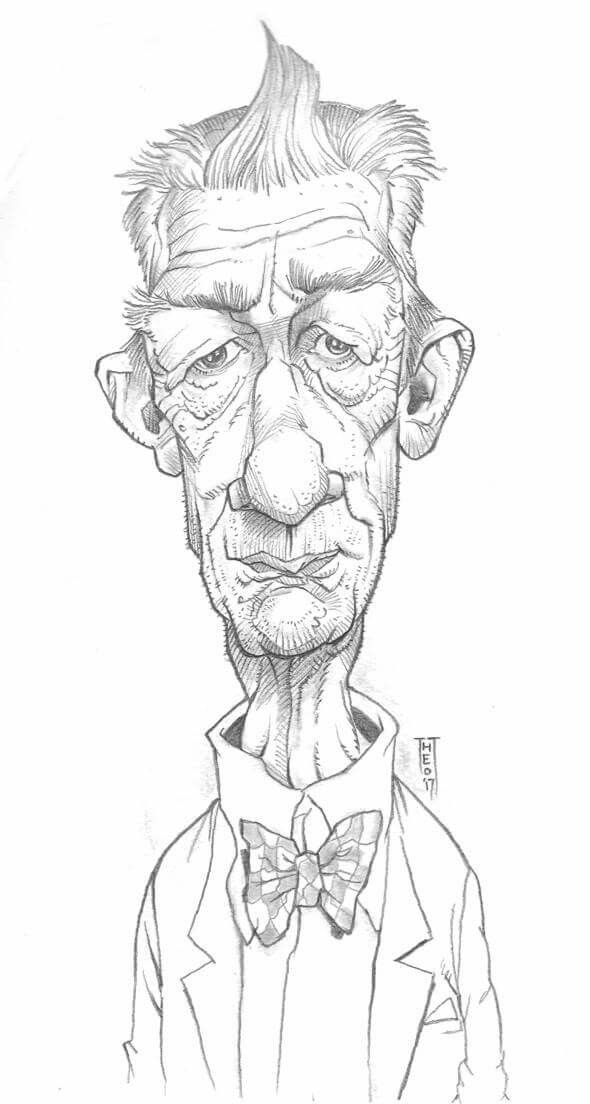 John Hurt... by Theo.