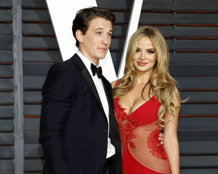 She's going to be Mrs. Teller! Actor Miles Teller is engaged to girlfriend of four years Keleigh Sperry.