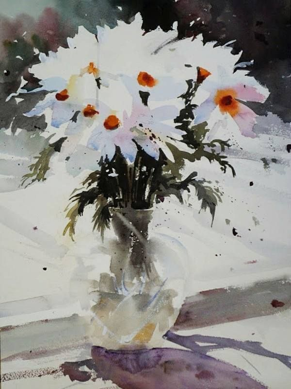 960 best images about loose watercolor florals on