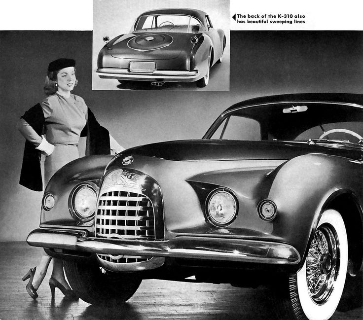 17 Best Images About 1952 Chrysler Ghia C200 & K310 Idea