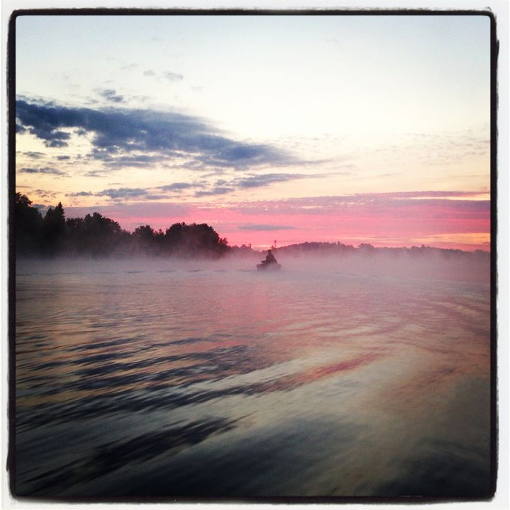 Great looking morning.. Jacks Lake, Apsely Ontario