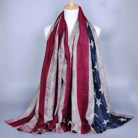 GET $50 NOW | Join RoseGal: Get YOUR $50 NOW!http://www.rosegal.com/scarves/chic-stars-and-stripes-pattern-voile-scarf-for-women-515608.html?seid=352072rg515608