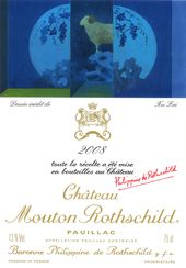 Everything, and I mean EVERYTHING about Chateau Mouton Rothschild can be found on our site .... Now the backgroundstory of the 2008 label .... read more on .....  http://www.wijngekken.nl/2013/04/21/de-etiketten-van-chateau-mouton-rothschild-2008/