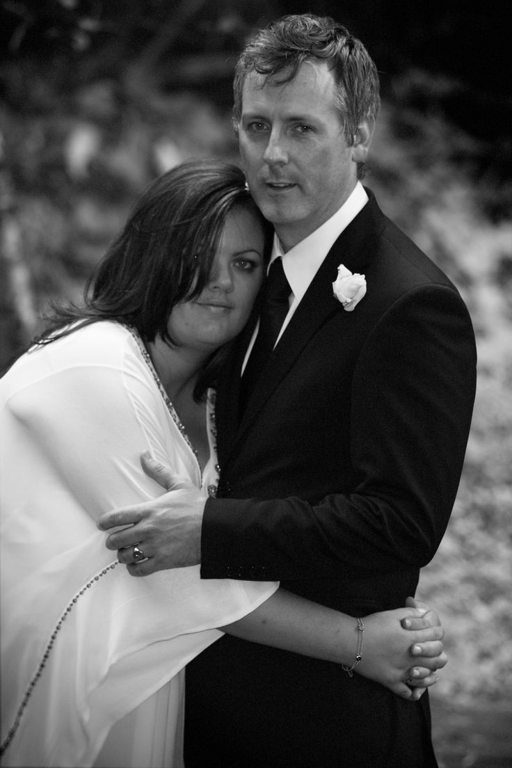 Antonia and David share a warm hug in the beautiful surrounds of their family home in Edinburgh
