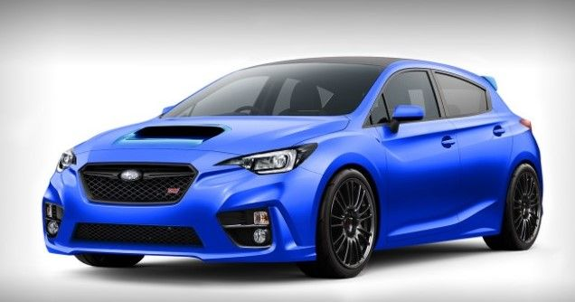 2018 Subaru Wrx Sti Redesign Powertrain Price And Release Date