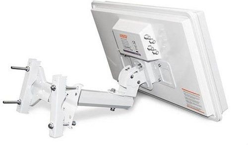 Slimsat SA64 Quad Flat Antenna, for både hjem, hytte, camping m.m. | Satelittservice tilbyr bla. HDTV, DVD, hjemmekino, parabol, data, satelittutstyr