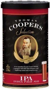 Coopers Brewmaster Selection India Pale Ale No Boil Home Brew Beer Kit. by Monster Brew Home Brewing Supplies. $21.99. With our easy to read instructions your assured a great brew every time.. Each ingredient kit makes 5 gallons of top quality homebrew.. Each kit does require an additional 3 Lb. of Light Malt Extract to produce 5 gallons.. Coopers Ingredient Kits are assembled using the finest ingredients available.. Early records of Cooper and Sons producing India Pale Ale c...