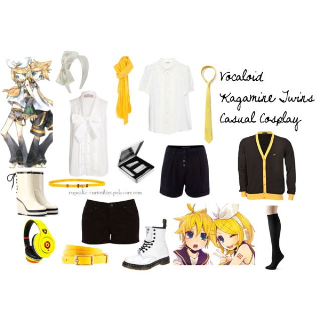 Kagamine Rin and Len! | Vocaloid inspired outfit ...
