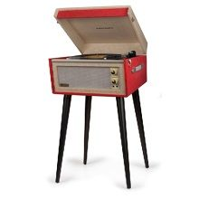 Crosley Bermuda Platenspeler - Vintage Red