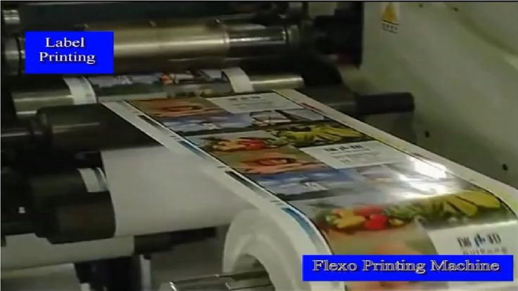 Flexo Label Printing Machine for Sale Flexo Printing Machines For Trademark