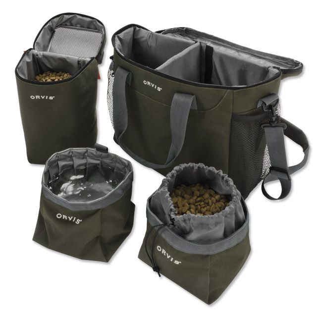 Just found this Dog Food Travel Bag - Orvis Dog Travelers Kit -- Orvis UK on Orvis.com!