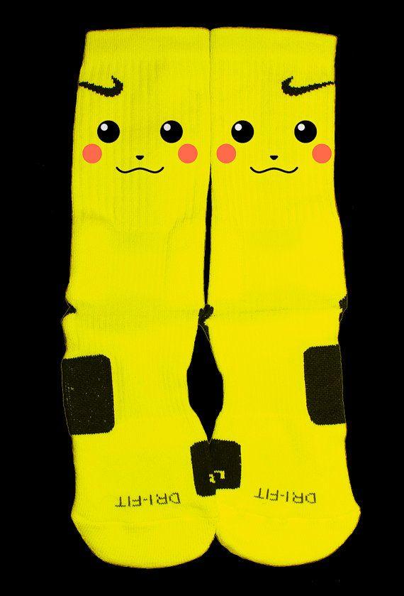 Pokemon Inspired Custom Nike Elites — Luxury Elites