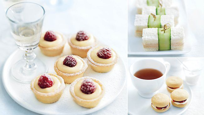 donna hay high tea recipes