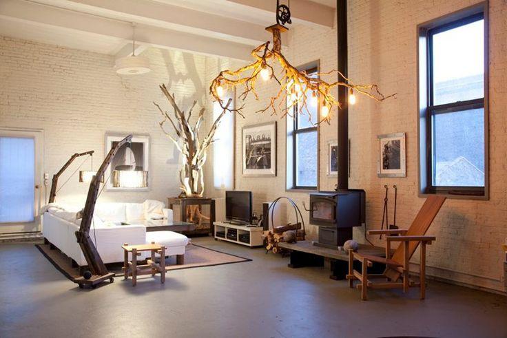 Branch Light Fixture