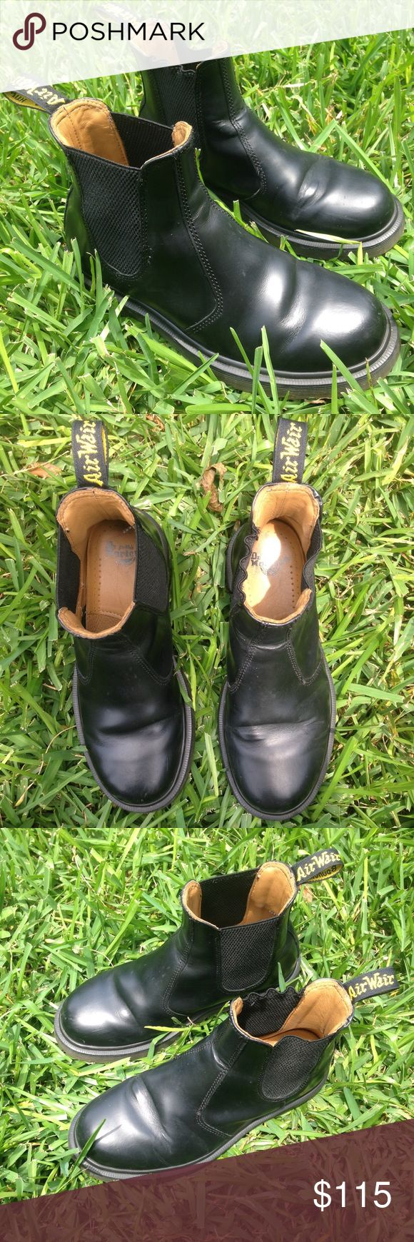 Authentic Dr. Marten 2976 Used Chelsea Boots! These used Chelsea boots are in great condition and super comfy! Message me if you have any questions or want more pics! Dr. Martens Shoes Ankle Boots & Booties