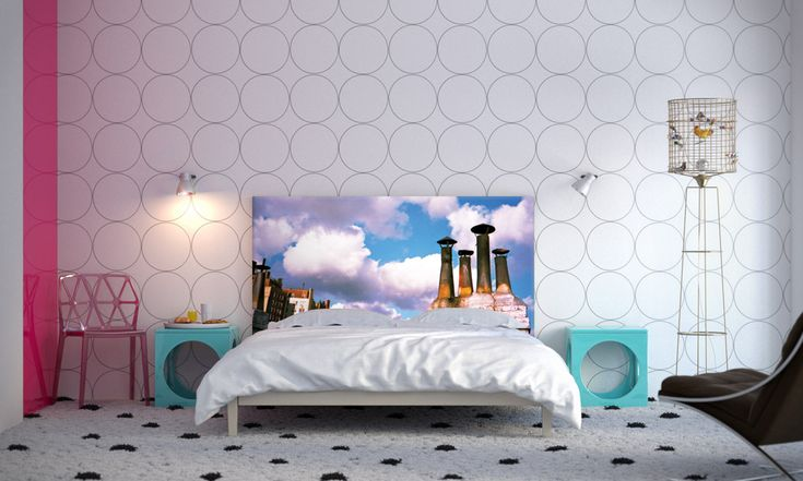 PopBrooklyn Bedroom Makeovers on a Whim: NOYO Headboards With Interchangeable Slipcovers