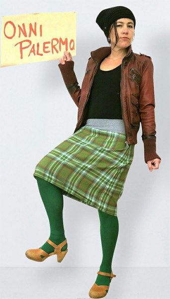 Green checkered  wool skirt  in retro style ,scottish checkered skirt, ,  scottish skirt, wool skirt, warm skirt, autumn, winter