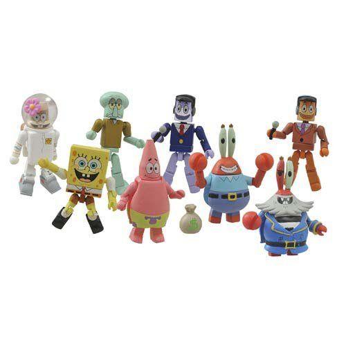 Spongebob Squarepants Minimates Patrick Squidward Mr. Krabs Grandpappy Redbeard & Perch Perkins S @ niftywarehouse.com #NiftyWarehouse #Spongebob #SpongebobSquarepants #Cartoon #TV #Show
