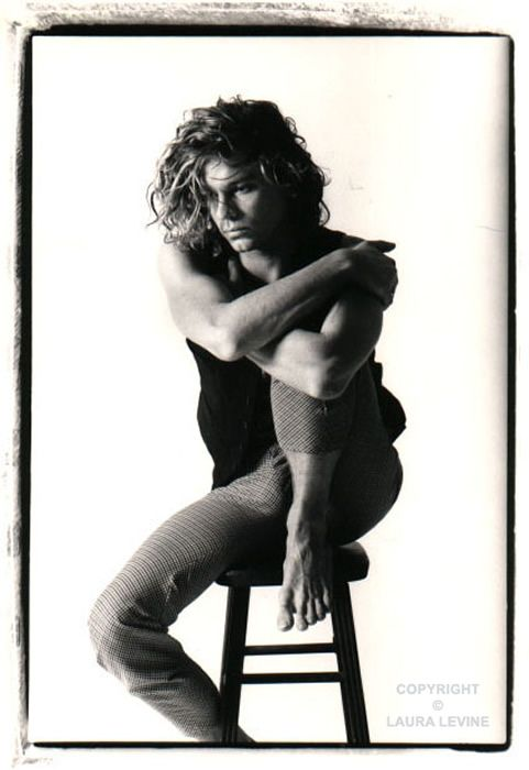 Michael Hutchence from INXS...I was so in love with him back in the day!