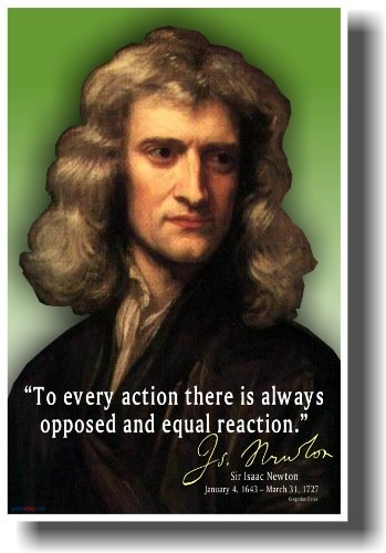 Sir_Issac_Newton_Every_Action_Has_an_Opposed_and_Equal_Reaction_NEW_Classroom_Science_Poster
