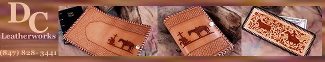 DC Leatherworks :: Custom Leather  Horse Gear, Chaps and Accessories. Tack Repair.