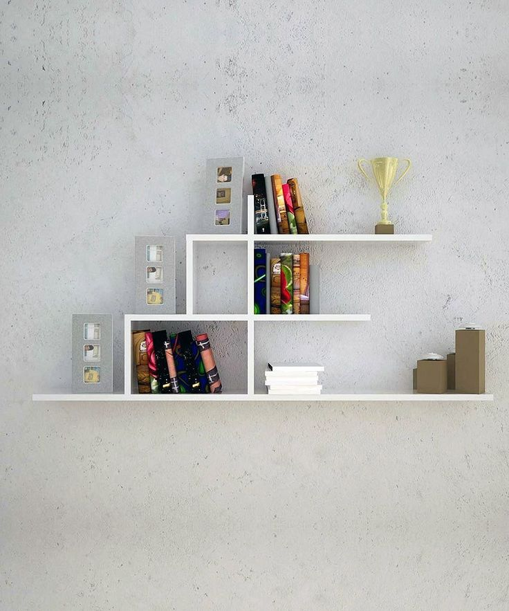 Best 25+ Wall Shelves For Books Ideas On Pinterest | Bedroom Live