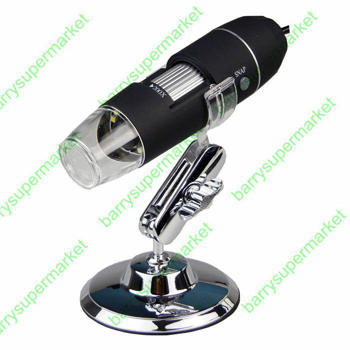 8 LED USB 200X Microscope Endoscope Magnifier Digital Video Camera Microscopio #jewelry, #women, #men, #hats, #watches