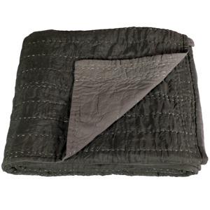 Cocooning sur le canapé grâce à ce plaid en soie.