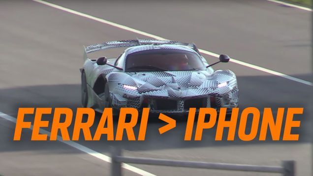 You People Are All Yapping About iPhones When You Should Be Buying Ferraris