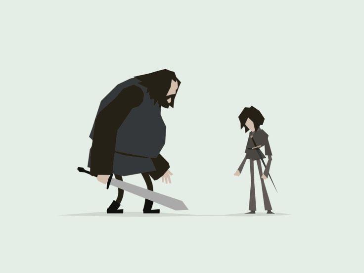 Arya vs. Rorge