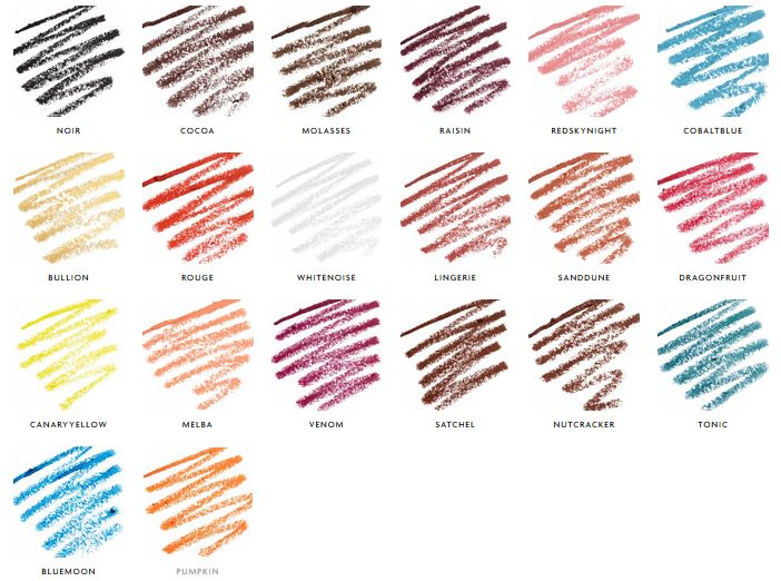 sleek Eau La La Liner colors
