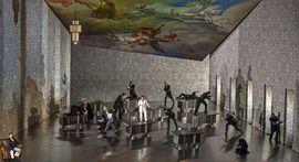 un ballo in maschera by g.verdi director: david Alden designer: Paul steinberg