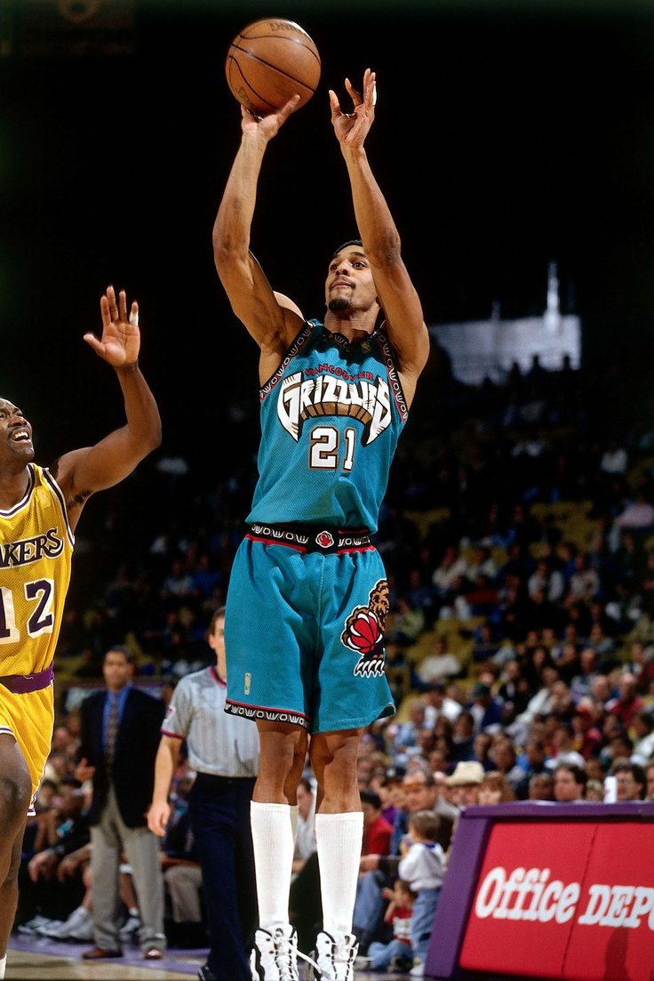 Lawrence Moten - Vancouver Grizzlies 1997 #Grizz #GrizzNation