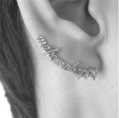 border-lining earring