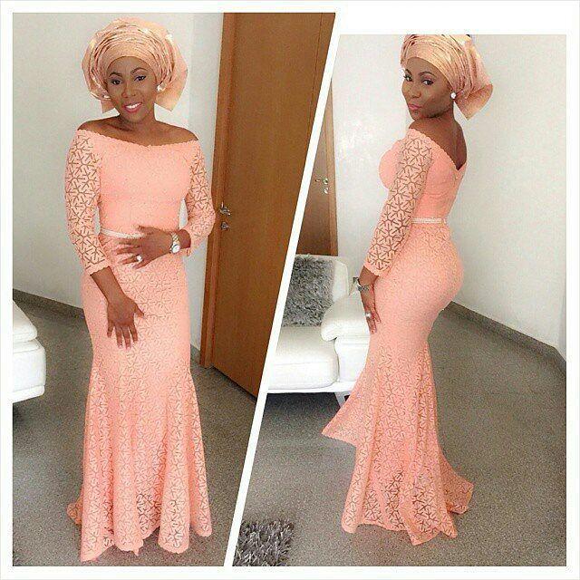 Creative Lace Dress Design for Ladies -http://www.dezangozone.com/2015/11/creative-lace-dress-design-for-ladies.html DeZango Fashion Zone