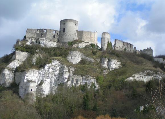 Chateau Gaillard, France