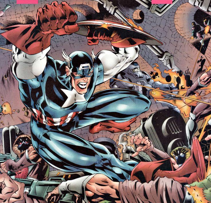 Captain America by Joe Bennett