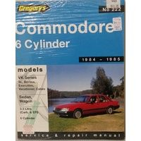 Holden Commodore VK 6 Cylinder Workshop Repair Manual 1984-1985 with MPN GAP222