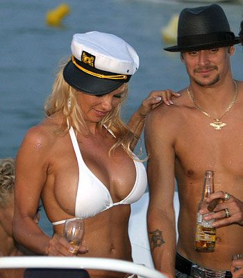 Pam Anderson + Kid Rock. Yes, just yes.