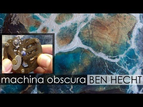 machina obscura: An Encaustic Mixed Media Painting Series by Ben Hecht - YouTube-------------------------------------------------GENIALE  !!!!!!!!!!!!!!!  --------------------
