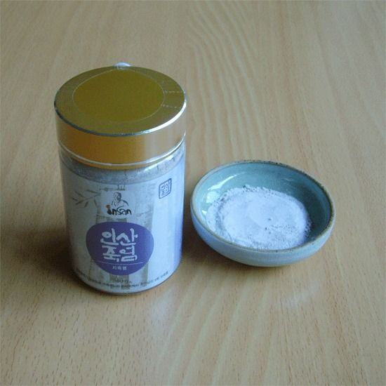 Insan Purple Bamboo Salt (Powder : 240g) / Food-Medicine   !
