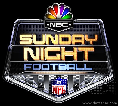 Sunday Night Football. <3 Ahhh!! Freaking out... I cant wait for my 1st game of the season tonight!!!!!!