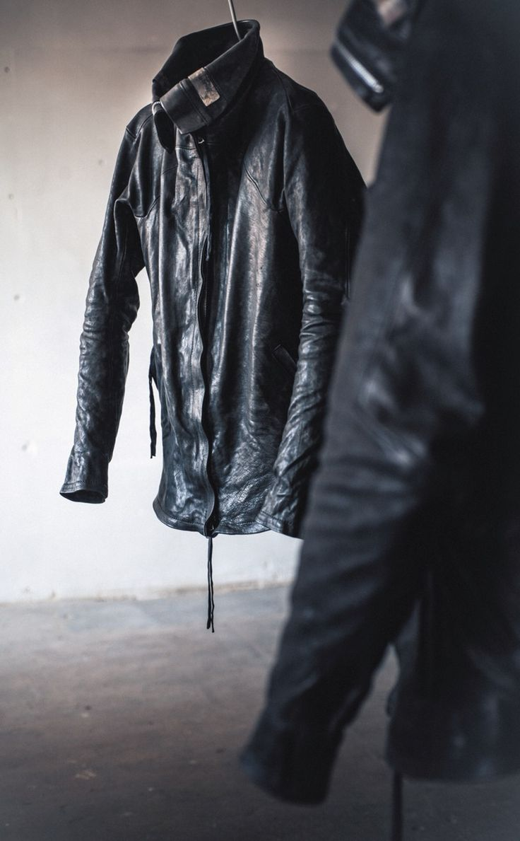 Leather jacket aesthetic - Boris Bidjan Saberi