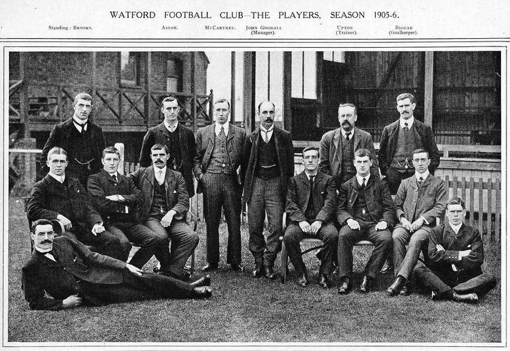 Watford F.C players, 1905-6.