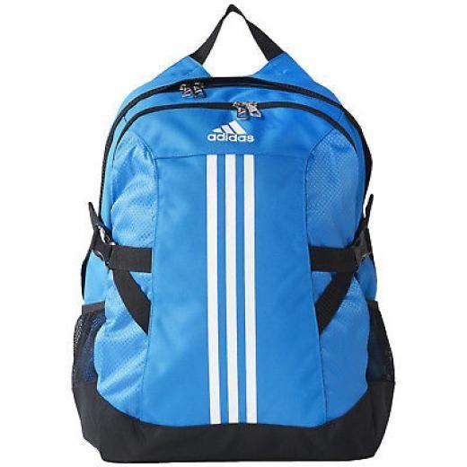 Adidas Performance Bp Power Ii College School Bag Backpack Rucksack Backpacks One Size Blue Unisex Adult Aj9442