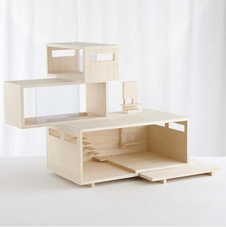 114 Best Images About The Hippest Modern Dollhouses And