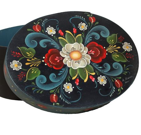 My First Painting Series - Rosemaling (DVD) — Arlene Newman Designs