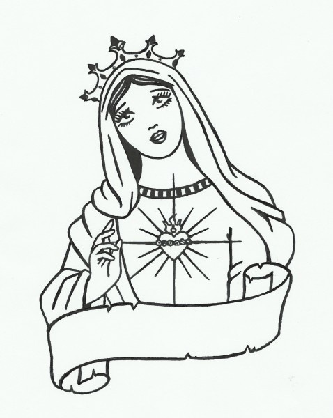 Tattoo Maria, saint, old school I'm gonna get with with Grandmom in the banner @Kristen Capley should I do Grandmom or Gmom also I'm not sure where it should go @Susan Capley any thoughts?